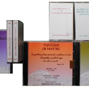 BIBBIA AUDIO SU CD