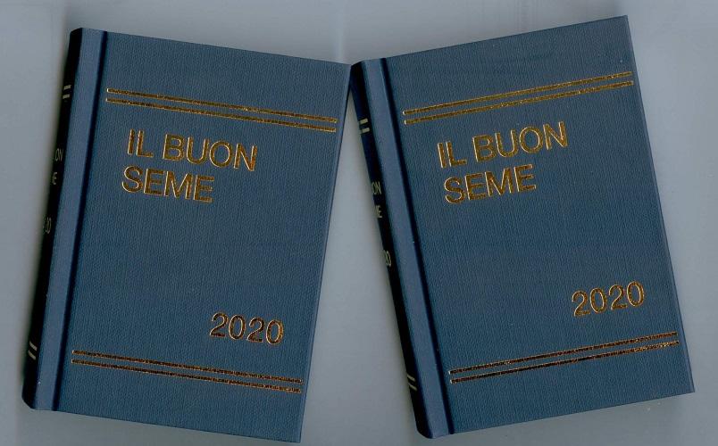 Calendario 2020 Da Colorare Per Bambini.Calendario A Libro Il Buon Seme 2020 Casa Biblica Di Vicenza